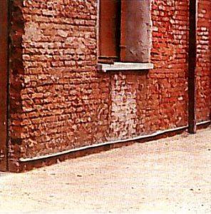 megtisztított fal