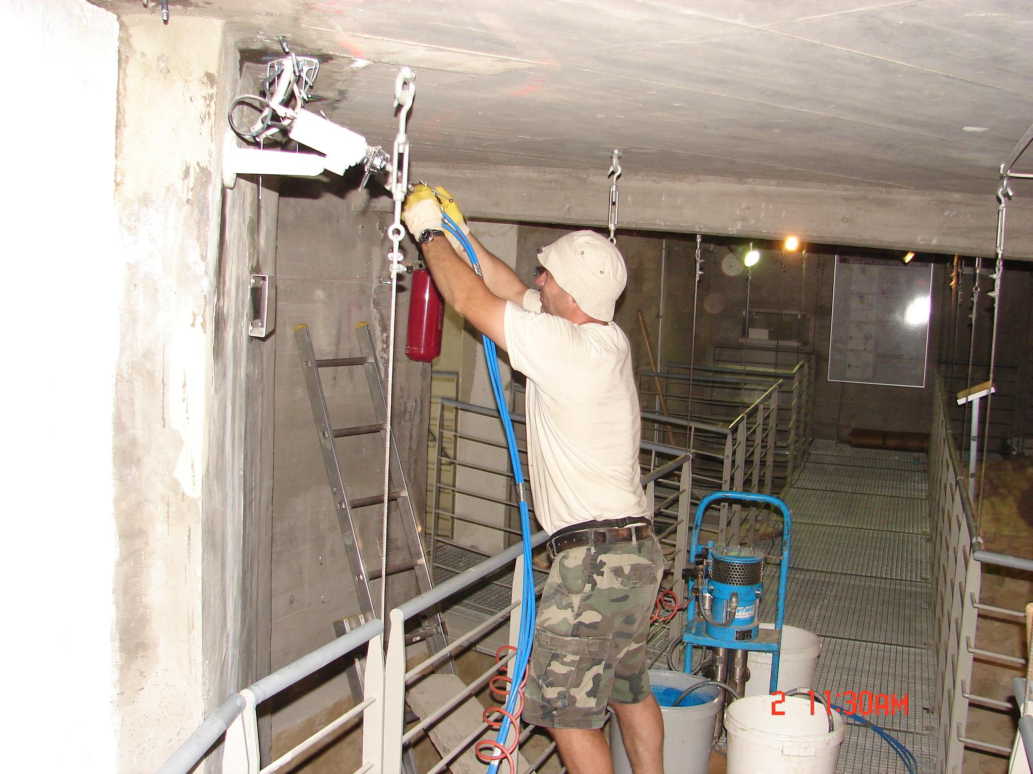 vízszigetelés Csillebérc betoninjektálással